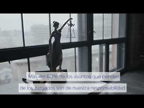 Letrados de la Administración de Justicia. Video realizado por FEDECA