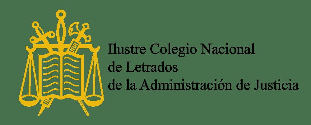 Logo Colegio Nacional Letrados de la Administración de Justicia