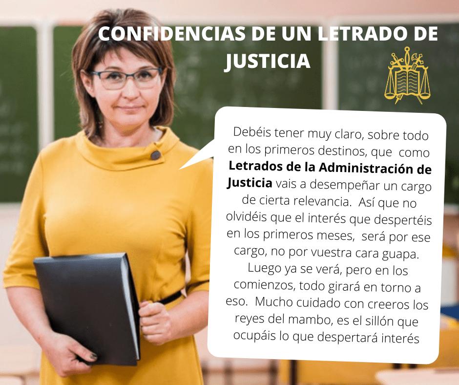 Confidencias De Un Letrado De La Administracion De Justicia