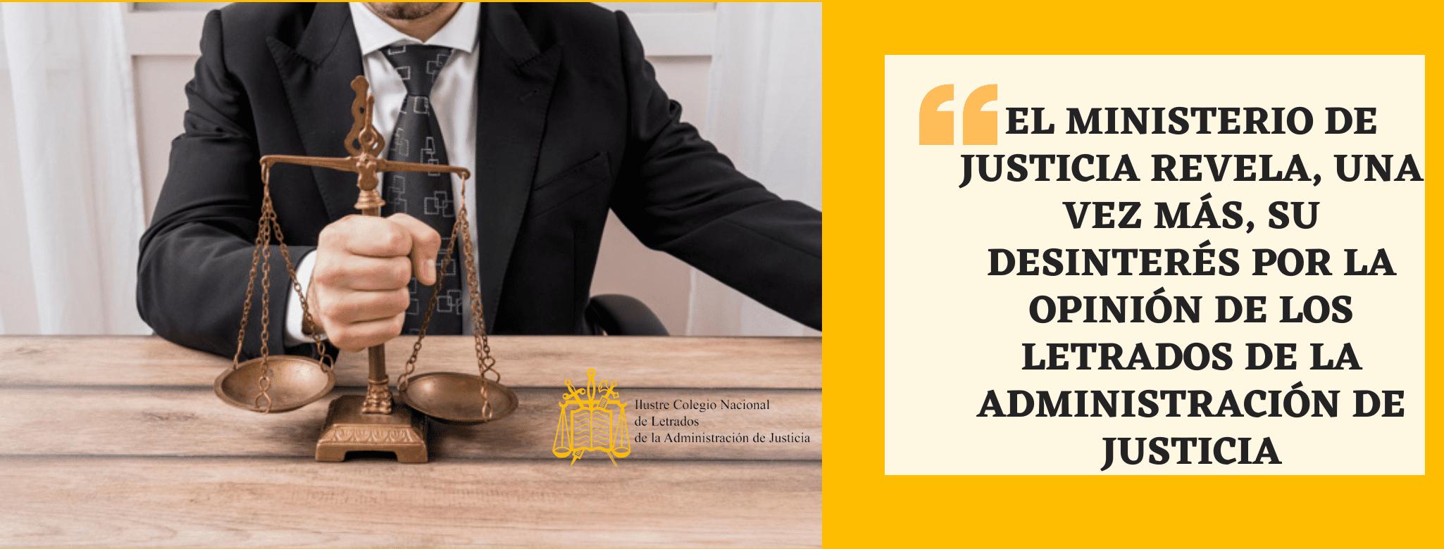 letrados de justicia ministerio justicia
