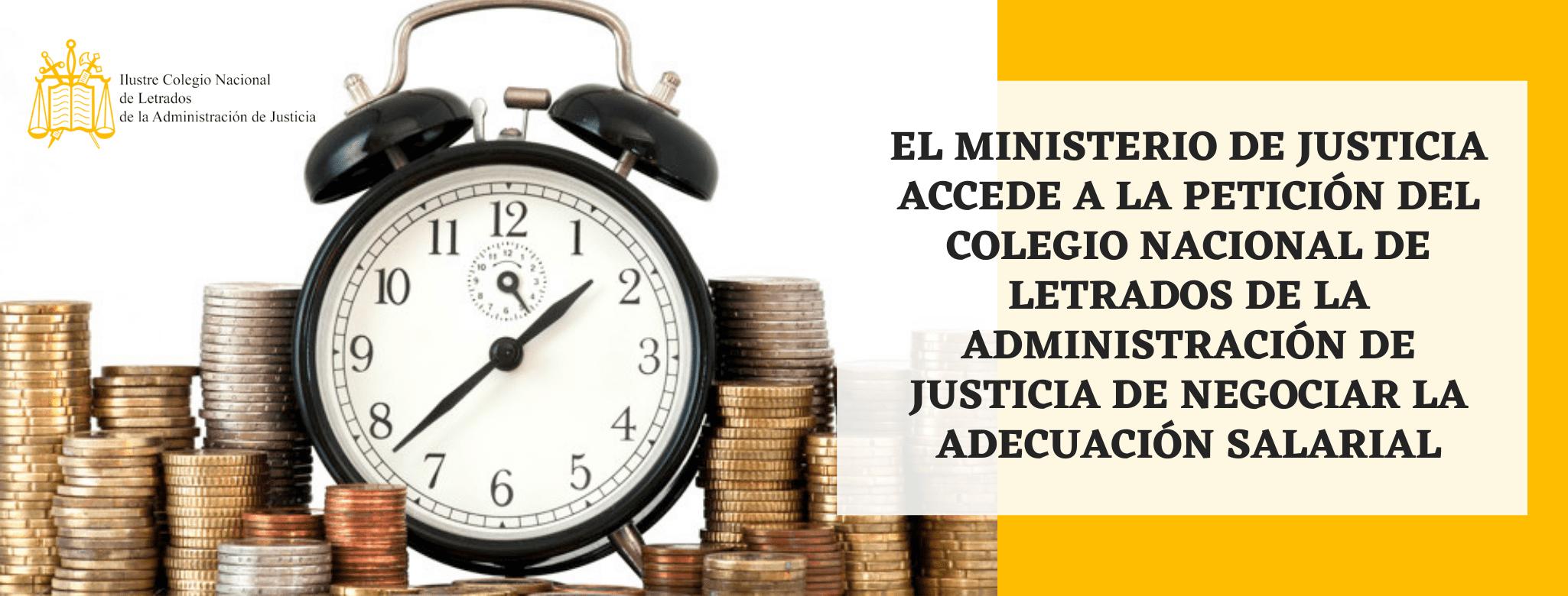 adecuacion salarial letrados administracion justicia
